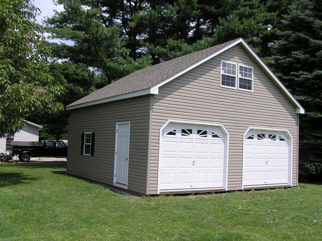 Mr shed double garages for Double story garage