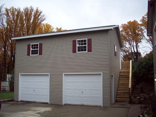 Mr Shed Double Garages