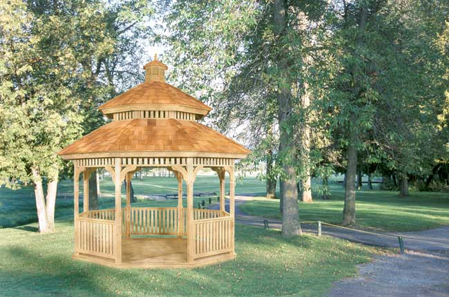 Mr Shed Wood Gazebos