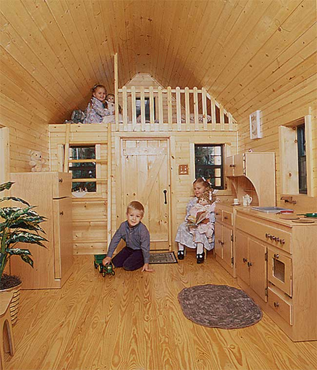 Mr shed playhouses for Interior designs play